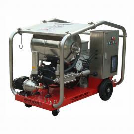 HOWEVERJET哈为化工厂使用发酵罐除反应釜800公斤高压清洗机HD800