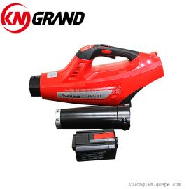 KM GRAND充电式锂电吹风机 道路清理机 便携式无线吹尘机 48V