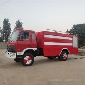 祥农福田小卡3吨水罐消防车5方消防车