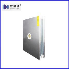 宏鑫源50mm彩钢复合板产品耐用30年不褪色