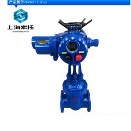 索托 Z941H-64P-150电动法兰水电站 高温高压电动闸阀