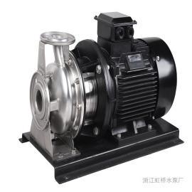 虹桥水泵不锈钢卧式冲压泵清水介质专用卫生可靠CD50-32-200