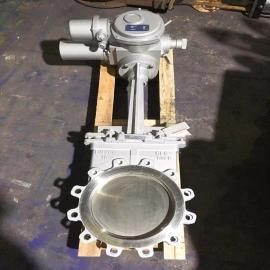 气动不锈钢刀闸阀PZ643W