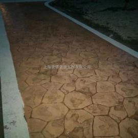 真石丽混凝土压花地坪施工模具进口聚氨酯材质