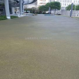透水工程材料混凝土增强剂彩色透水路面多种厚度可选