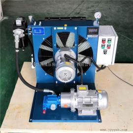 JIAN YI剑邑自动循环温控启停型油冷却系统 独立循环式液压风冷却器ELDL-6-A3