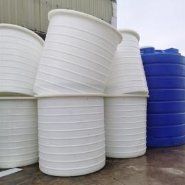 华社3吨耐腐蚀地埋垃圾桶抗紫外线塑料水箱室外环保雨水桶滚塑3000L