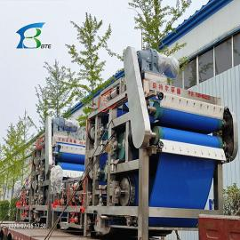 中科贝特洗沙场污泥脱水设备 河道清淤带式压滤机脱水效率环保达标RBYL