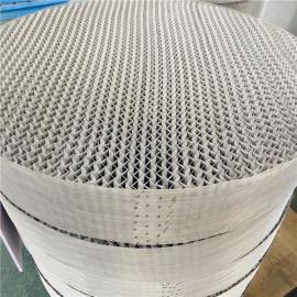 不锈钢丝网波纹填料洗涤塔填料BX500 CY700 AX250