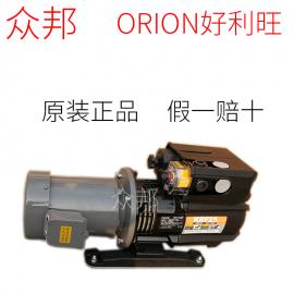 ORION好利旺真空泵经销商文承裱胶机 干式旋片泵 印刷机械气泵 声音低KRF25-P-B-03