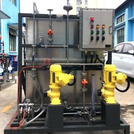 AINFO锅炉加药装置,工业自动控制一体式污水成套处理设备KSCT-300/2P-AM