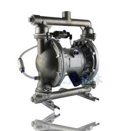 涂料输送泵 炭黑粉 粉体输送气动隔膜泵