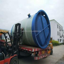 亨特尔环保DN2500*6600一体化预制泵站 污水处理一体化泵站直径2.5m-6.6m