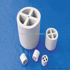 美陶化工塔内件填料/陶瓷十字隔板环