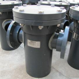 景辰管道PVC篮式过滤器
