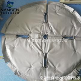 熔体过滤器隔热保温罩过滤器易拆装式节能保温套