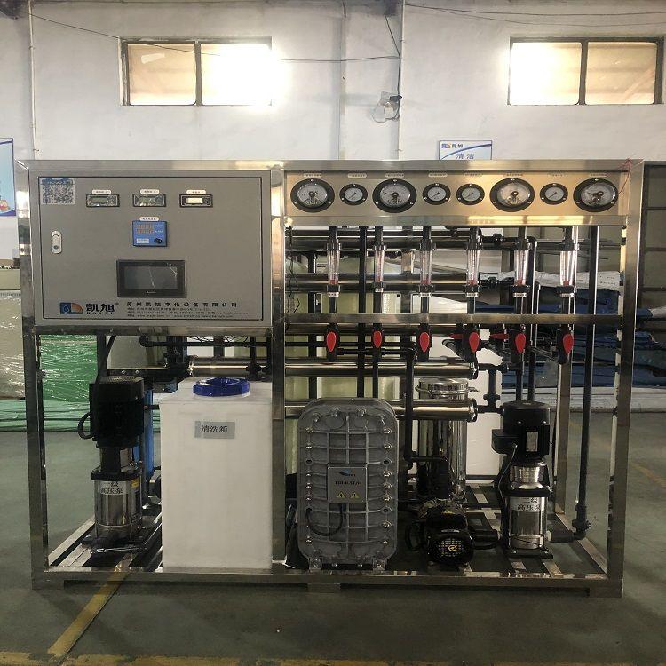 凯旭二级反渗透+EDI高纯水设备 EDI高纯水KX2-500