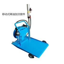 TGRJD移动式气动润滑油定量加注机TGR37100D
