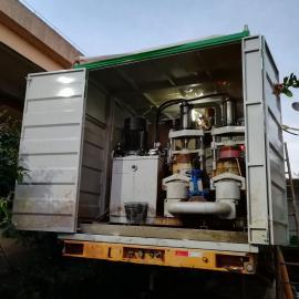 中科璟蓝大型移动式污泥脱水设备出租200