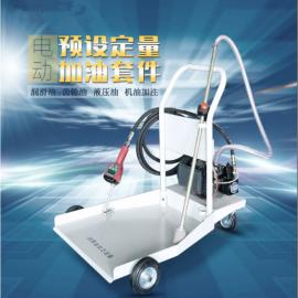 泰格瑞机电移动式电动润滑油定量加注机TGR200-E-D