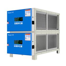低空油烟净化器净化率高达98%,包过环评,16000风量TLYBK-160E