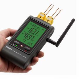 无线wifi四路热电偶温度记录仪挂墙式厂房实验室