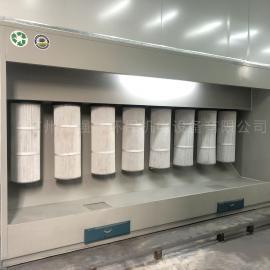 强鑫粉未回收 塑粉回收机 喷粉房 高温烤房 固化房QX