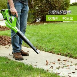 格力博(greenworks)吹吸机40V锂电吹吸机无线锂电池树叶清扫道路清扫BVF442