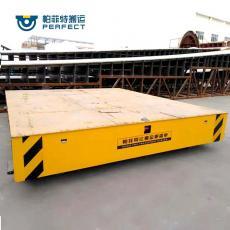 帕菲特钢材转运设备钢结构板转运胶轮支架无轨车搬运车