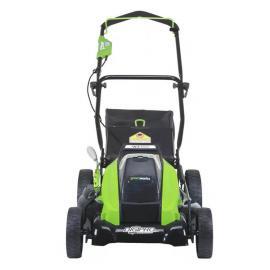 格力博(greenworks)推草机40V手推式剪草机电动草坪机家用割草机LMF419-1