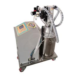 TGRJD移动式气动黄油数显液晶显示定量加油机TI800A-13