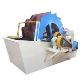 隆鼎移动洗砂站新型喷淋式轮斗洗砂机XSD
