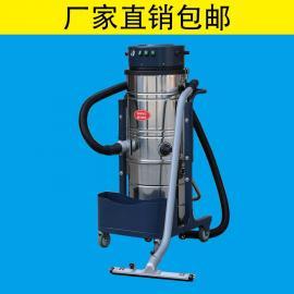 德克威诺3600W大型工业吸尘器用电机吸尘扒车间吸粉尘颗粒焊渣木屑砂石DK3610