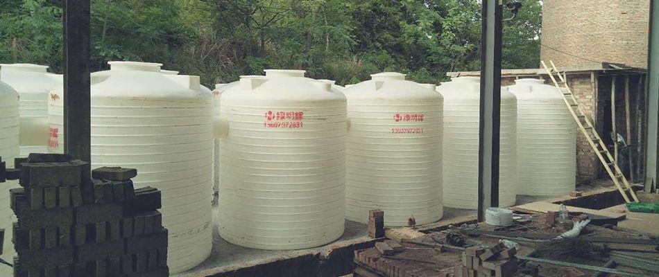 一体成型聚30吨容器储罐