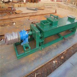 单轴粉尘加湿搅拌机工业粉尘加湿机卧式DSJ