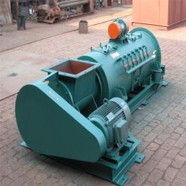 SJ型双轴粉尘加湿机化工强力双轴搅拌机07