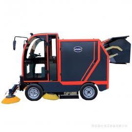 GEXEEN捷恩 扫地车生产厂 电瓶驾驶式扫地机 电动清扫车道路扫路车品牌