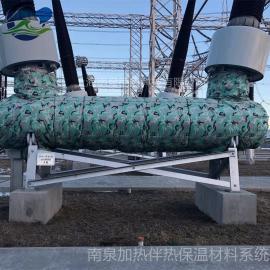 南泉超低�乇@�LNG管道可拆式保冷�能被