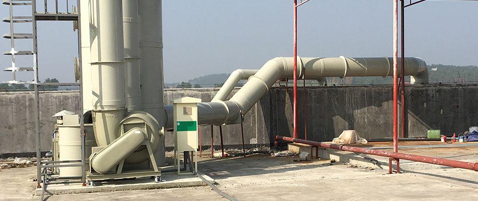 聚丙烯化工废气处理塔设备定制