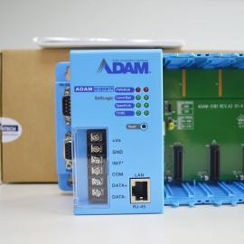 ADVANTECH研�AADAM-5000/485�程PLC控制器模�K