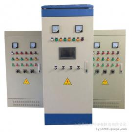 �略智能控制系�yplc成套恒�汗┧���l控制柜45/55kw一拖四ZLK-4BP-45