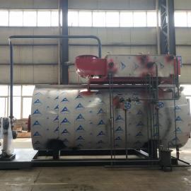 中太��t 食品加工蒸汽��t2���P式燃油燃�忮��t超低氮�能�h保�嵝�率高WNS2-1.25-YQ