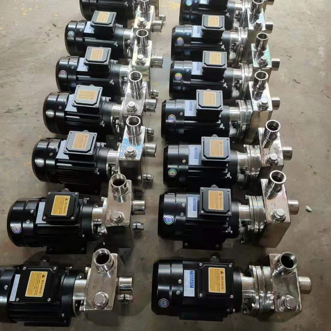 鄂泉不�P�耐腐�g�泵 小型不�P�自吸泵40HBFX-10