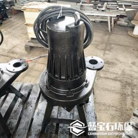 �{��石�h保污水生化�理曝��_氧增氧泵QXB7.5