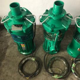 鄂泉三相充油式��水泵QY型