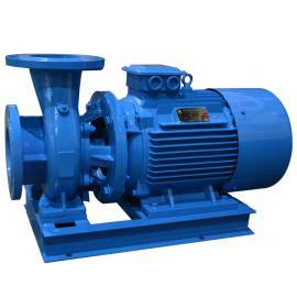 �B泉�P式管道泵 ISW�崴�循�h泵/管道增�罕� ISW65-125�x心泵