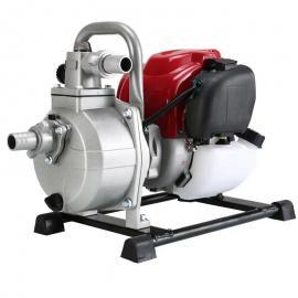 捍�G一寸抽水泵 手提式便�y水泵 �r用灌溉水泵 汽油小型抽水�C