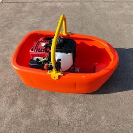 捍�G一寸手提式船型水泵 漂浮泵 �r用船式�驳��灌�C 四�_程抽水泵