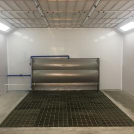 强鑫生产水帘式家具喷漆房,环保喷漆房,无尘喷漆、烤漆连体房