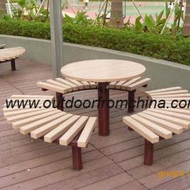 简约休闲桌椅,户外桌椅,公园桌椅